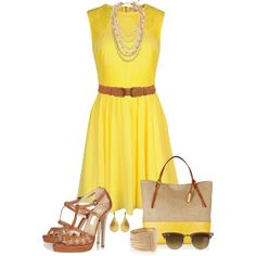 """Walking On Sunshine"" by luluchella on Polyvore"