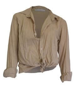 The Bombo Shirt in Beige by Bombo Clothing Co.