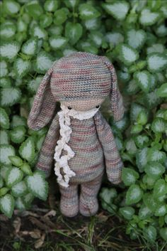 Rita the Rabbit made by Erin M., pattern by lalylala.