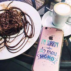 SIIIIIIM tudo culpa dele! {case: culpa do signo}  [LANÇAMENTO DISPONÍVEL PARA IPHONES GALAXY E MOTO G]  #gocasebr #instagood #iphonecase #signo #eat #doce #minhagocase