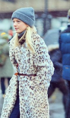 #Shopbop Fashion Director Elle Strauss braves the winter elements in style