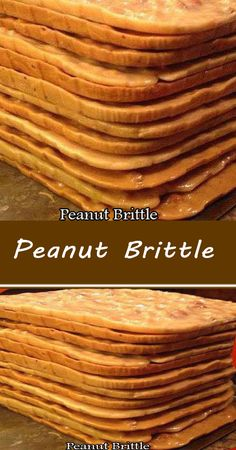 Tart Recipes, Candy Recipes, Sweet Recipes, Dessert Recipes, Cooking Recipes, Peanut Brittle Recipe, Brittle Recipes, Delicious Deserts, Yummy Snacks