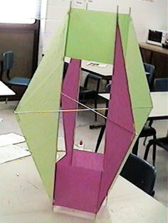 Winged Box Kite Design