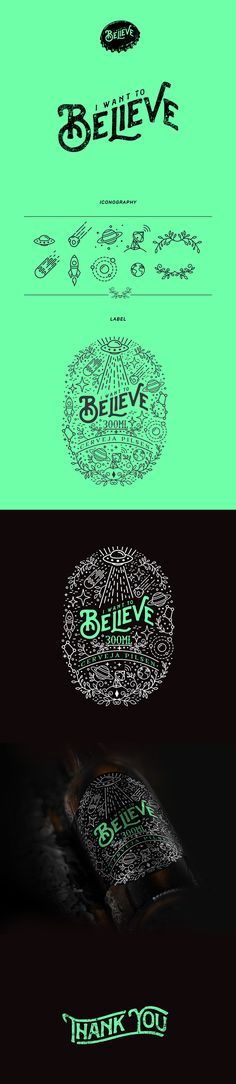 Believe Beer on Behance