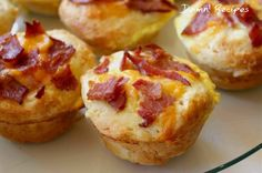 Delicious Recipes! Bacon, Egg Cheese Biscuit Muffins Recipes