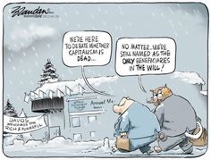 BRANDAN's cartoon in Business Day is a brilliant commentary on ideologies. Under both capitalism and socialism, Greedy Pigs and Fat Cats will always hold sway. Pig Drawing, Davos, Fat Cats, Political Cartoons, Politics, Socialism, Pigs, Spiritual, Editorial