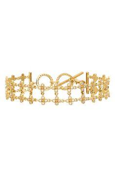 Freida Rothman 'Metropolitan' Floral Bracelet available at #Nordstrom