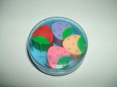 Fabulous smelling erasers. I remember these from the 80's.