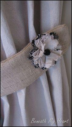 More DIY Fabric Flowers | Beneath My Heart