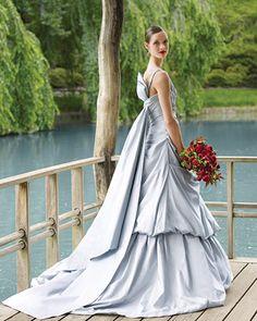 One of the most beautiful and glamorous editorials- Romona Keveza taffeta ballgown for Martha Stewart Weddings