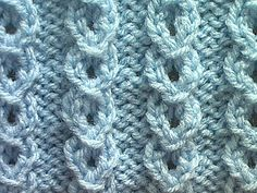 How to knit the Slip Stitch Lace stitch. You will need to know how to knit, purl, make a yarn over, slip a stitch, and pass a slipped stitch over. Knitting Stiches, Knitting Videos, Crochet Videos, Lace Knitting, Crochet Stitches, Knit Crochet, Stitch Patterns, Knitting Patterns, Crochet Patterns