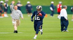 Click to find out how rookie WR Stedman Bailey will contribute to the St. Louis Rams in 2013.  Written by Anthony Blake