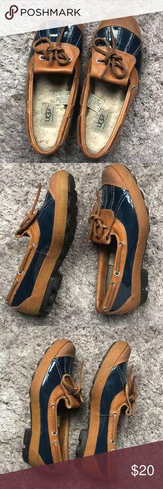 UGG Slip On waterproof Shoes GUC UGG slip on waterproof shoes, perfect for a rainy day! UGG Shoes