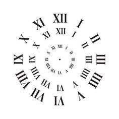 Clock Template, Face Template, Clock Tattoo Design, Wall Clock Design, Clock Art, Diy Clock, Clock Ideas, Rustic Wall Clocks, Wooden Clock
