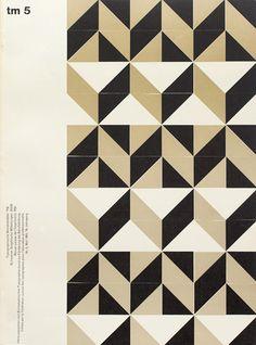 Typographische Monatsblätter 1950s