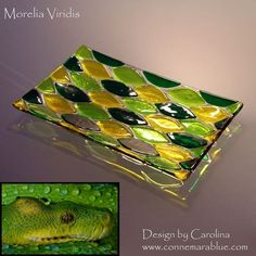 fused glass plates bowls - Google Search