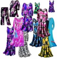 Slinky Print Plus Size Dresses Available in sizes 0x to 9x