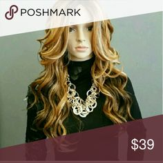 #95  LACE FRONT WIG #95  LACE FRONT WIG GOLD N LUXE Accessories Hair Accessories