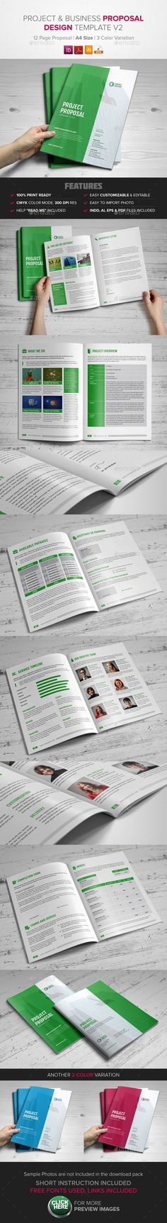 For new handbook 30+ Page Proposal Template - w/ Contract  Invoice