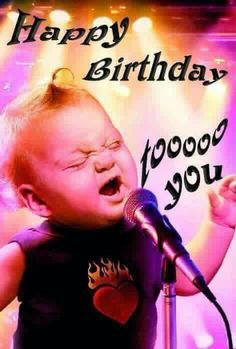 I want you to get on out and croon on your special day! Go Ron, Go Ron.. Birthday Wishes For Myself, Happy Birthday Friend, Beautiful Birthday Wishes, Friend Birthday Quotes, Birthday Wishes Funny, Birthday Blessings, Happy Birthday Messages, Birthday Love, Happy Birthday Girl Funny