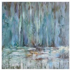 Artfully hand-painted, this beautiful canvas brings gallery-worthy appeal to your walls with its abstract motif.   Product: Canv...