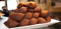 Kibbeh-fried - OMG I love these things!