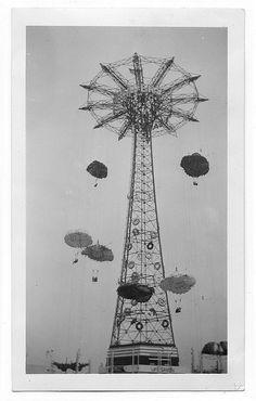 Parachute Jump – 1939, New York World's Fair – Flushing Meadows.