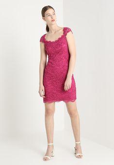 7d99ea821b SPRING - Sukienka koktajlowa - dark pink Koktajle