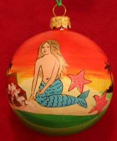 Mermaid Christmas Tree Ornament