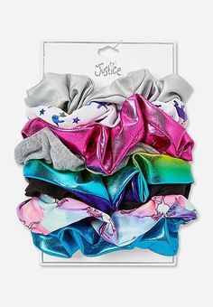 Justice is your one-stop-shop for on-trend styles in tween girls clothing & accessories. Shop our Shimmer Scrunchie - 8 Pack. Tween Girls, Toys For Girls, Freebies By Mail, E Claire, Teen Swag, Baby Doll Nursery, Fantasias Halloween, Gift Card Shop, Justice Clothing