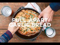Pull Apart Garlic Bread - Fresh Off The Grid