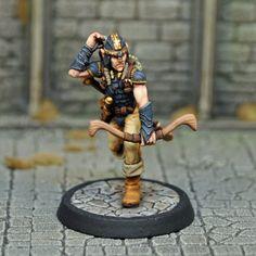 DAD6 : Male Half-elf Fighter/Thief