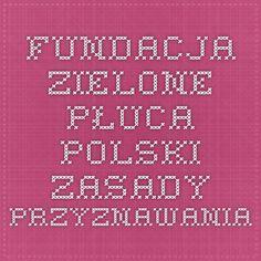 Fundacja Zielone Płuca Polski - Zasady przyznawania Periodic Table, Periotic Table