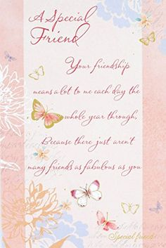 verse for a special friend card greetings pinterest verses