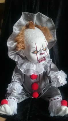 Pennywise baby  The look on his face!