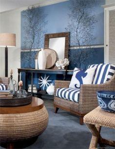 50+ BEACHY COASTAL STYLE LIVING ROOM IDEAS