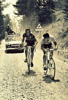 Giro de Italia 1970. Pedro Bonfim.