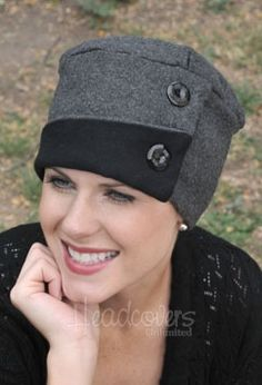 Fleece Audrey hat