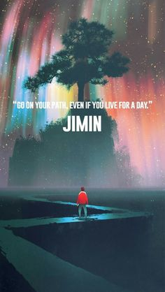 So true, Jimin you are wiser than you think you are!☺️ I love Jimin so much and this art work is beautiful! Bts Jimin, Bts Bangtan Boy, Jhope, Bts Lyrics Quotes, Bts Qoutes, Music Quotes, K Pop, Bts Lockscreen, Bts J Hope