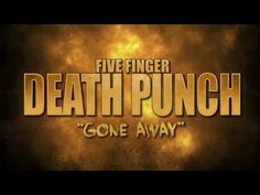 """Five Finger Death Punch - """"Gone Away"""" (Lyric Video) Music Is Life, My Music, Five Fingers, Going Away, Greatest Hits, Soundtrack, Of My Life, Punch, Lyrics"""