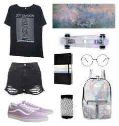 """""""my stlye"""" by chillamlany on Polyvore featuring R13, Vans, Trademark Fine Art, Topshop, Moleskine and ASOS"""