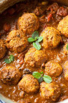Chicken Kofta Curry-2