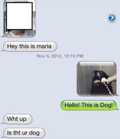 Hahahha!