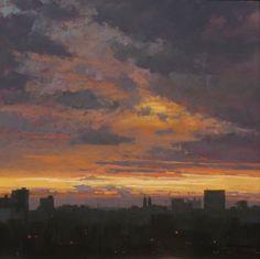 Vose Galleries - Fireflies by Liz Haywood-Sullivan