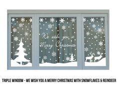 Christmas Window Stickers - GrabOne Store Mobile