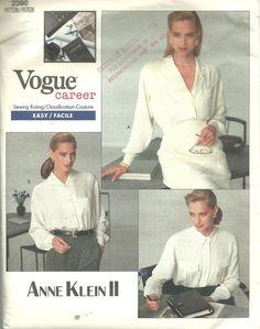 Womens Vogue Career Anne Klein II Button Up by DestinedRendezvous