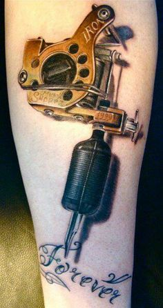 3D Tattoo Gun.