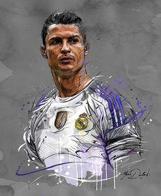New Sport Football Soccer Real Madrid Cristiano Ronaldo 42 Ideas Real Madrid Cristiano Ronaldo, Cristiano Ronaldo Wallpapers, Cristiano Ronaldo Juventus, Neymar, Football Art, Sport Football, Soccer Sports, Soccer Fifa, College Football