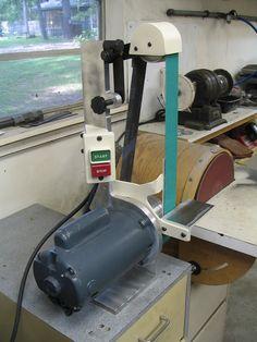 2x42 shop made belt sander -- now 2x48!! Bill Pace