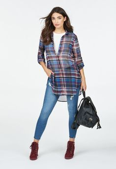 Plaid Perfect Outfit Bundle in - Get great deals at JustFab